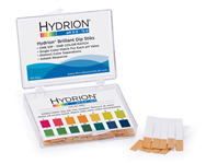 Hydrion Brilliant Dip Stik Plastic Strip 0-13