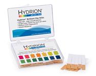 Hydrion Brilliant Dip Stik Plastic Strip 0-13