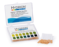 Hydrion Brilliant Dip Stik Plastic Strip 6.5-13.0