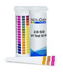 Multi-pad pH strip  2.0-9.0