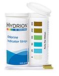 Chlorine 0-300, 100 strips/vial