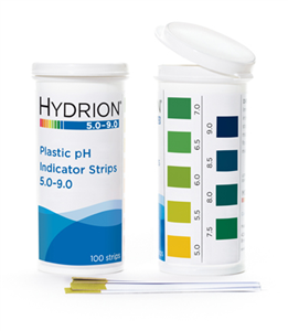 Hydrion (9400) Spectral 5.0-9.0 Plastic pH Strip