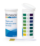 Hydrion (9600) Spectral 6.5-13.0 Plastic pH Strip