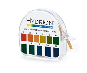 Hydrion S/R Dispenser 1.0-11.0V