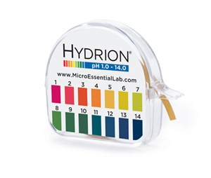 Hydrion S/R Dispenser 1.0-14.0