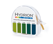 Hydrion S/R Dispenser 4.8-6.7
