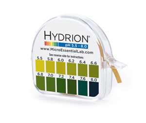 Hydrion (067) pH Paper  Dispenser 5.5-8.0