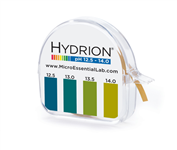 Hydrion S/R Dispenser 12.5-14.0