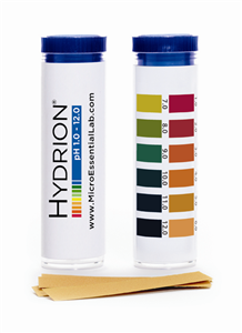 Hydrion Strips 1-12