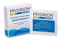 Hydrion Buffer Chemvelope Color Safe 10.00